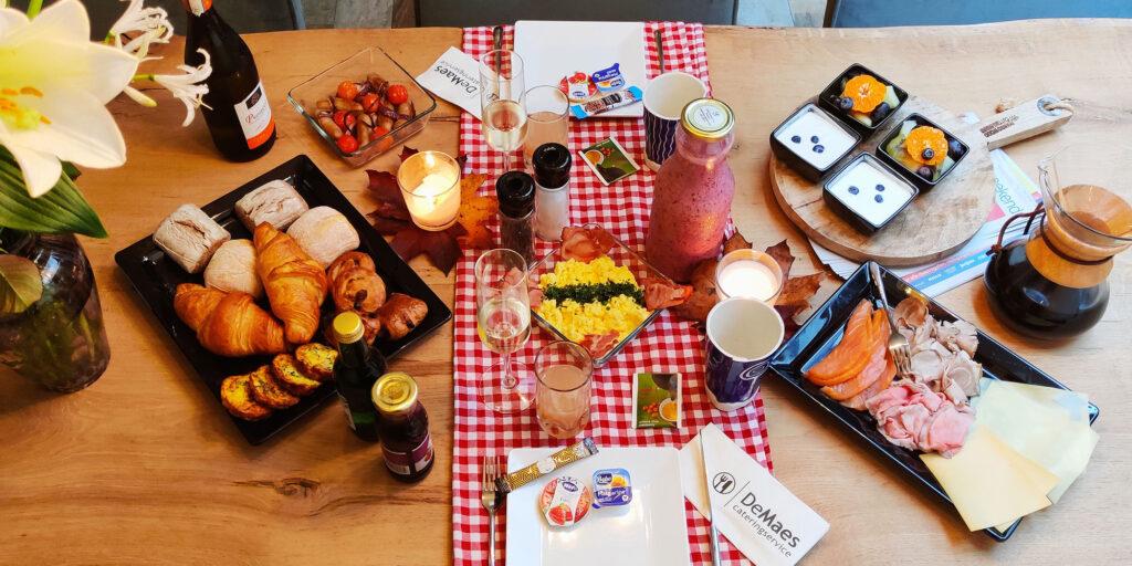 Thuiswerk menu